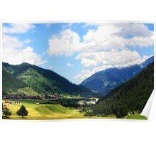 Switzerland, Sedrun Poster
