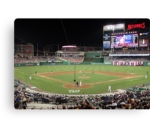 Washington Nationals Baseball Ballpark Canvas Print