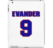 National Hockey player Evander Kane jersey 9 iPad Case/Skin