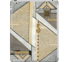 A picture of long ago iPad Case/Skin