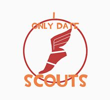 I only date scouts- RED Unisex T-Shirt