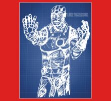 Iron Man - Blueprint 1 Kids Clothes