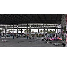 Car Yard Photographic Print