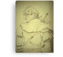 The Hero of Legend Canvas Print