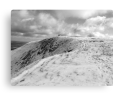 Towards Mangerton summit Canvas Print