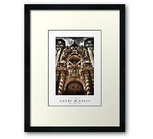 Cathedral Entry Framed Print