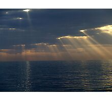 Light rays Photographic Print
