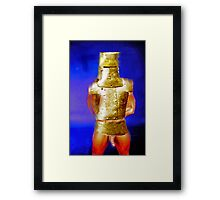 Ned Kelly - the myth revealed      Framed Print