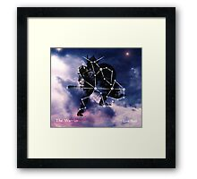 ES Birthsigns: The Warrior Framed Print