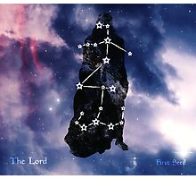 ES Birthsigns: The Lord Photographic Print
