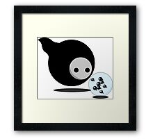 Kawaii Mother Death Framed Print