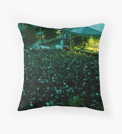 the final countdown Throw Pillow