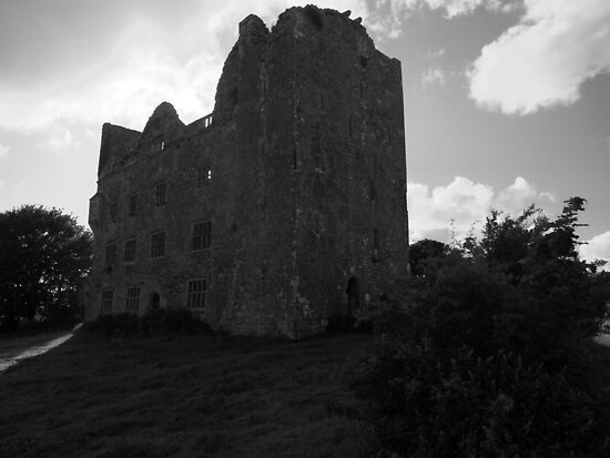 Lemenagh in black and white by John Quinn