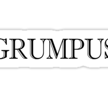 Grumpus Sticker