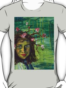 The Muse Portrait by Gretchen Smith T-Shirt