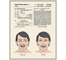 Vampire Teeth Patent - Colour Photographic Print