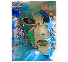 Venetian Carnival Mask Poster