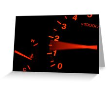 Just Getting Revved Up... Greeting Card