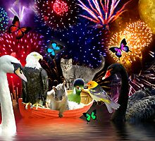 Happy Fourth Of July by digitalmidge