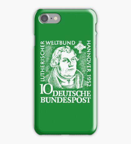 Martin Luther (Deutsche Bundespost) iPhone Case/Skin