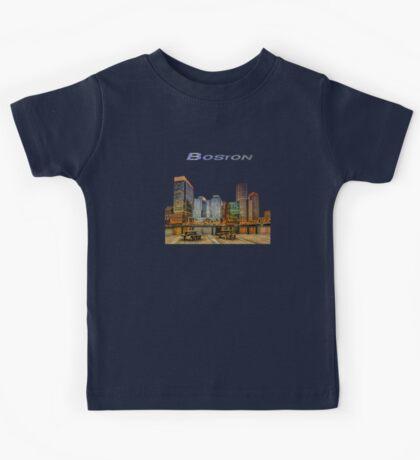 Boston Financial District Kids Tee