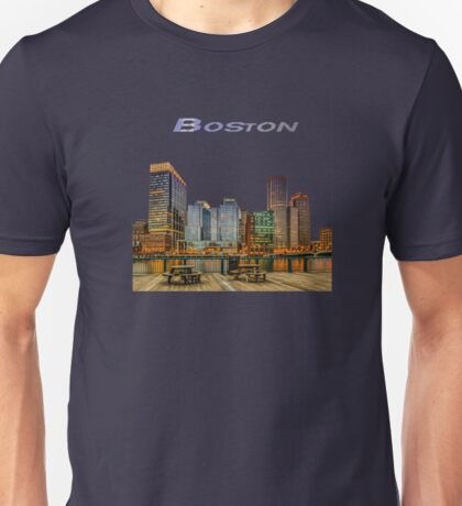 Boston Financial District Unisex T-Shirt