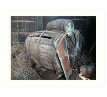 Forgotten Winery #035 Art Print