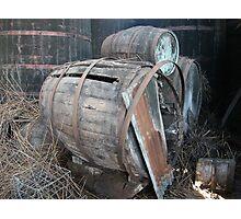 Forgotten Winery #035 Photographic Print