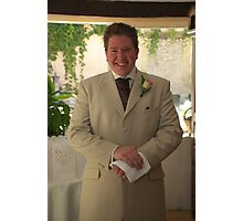 The Smiling Groom Photographic Print