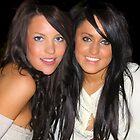 Two pretty girls  by Maureen Clark