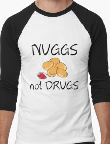 NUGGS NOT DRUGS Men's Baseball ¾ T-Shirt