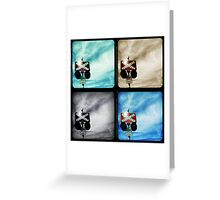Crossing Polyptych Greeting Card