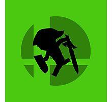 Smash Bros - Toon Link Photographic Print