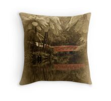 Nostalgia Pacifica Throw Pillow