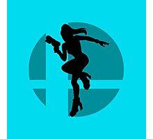 Smash Bros - Zero Suit Samus Photographic Print