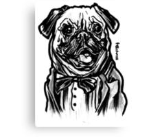 Pug Life = Thug Life Canvas Print