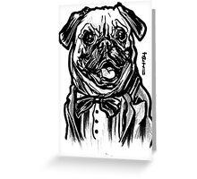 Pug Life = Thug Life Greeting Card