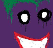 Joker Graffiti by DrGraveRobber