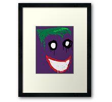 Joker Graffiti Framed Print