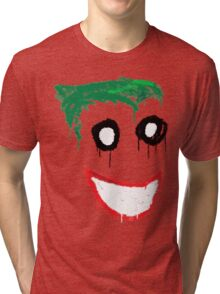 Joker Graffiti Tri-blend T-Shirt