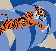 Tiger by Mark Gauti
