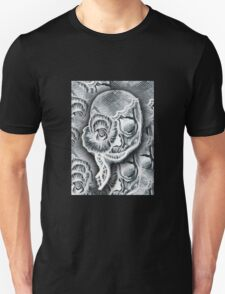 White Skull Collage T-Shirt