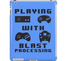 Playing With Blast Processing iPad Case/Skin