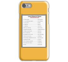 Learn Chinese iPhone Case/Skin