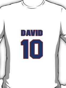 National Hockey player David Booth jersey 10 T-Shirt