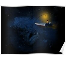the angler fish Poster