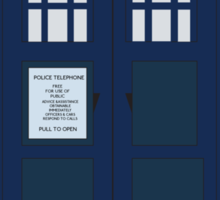 The TARDIS Sticker