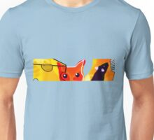 CAT AND MICE OVER A CHEESE Unisex T-Shirt