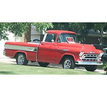 1957 Cameo Chevy Truck...Classic Photographic Print