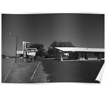 Route 66 - Western Motel Poster